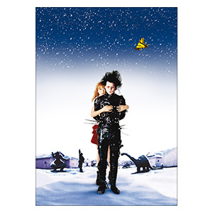 Edward Scissorhands. Размер: 25 х 35 см
